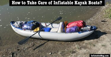 take care inflatable kayak