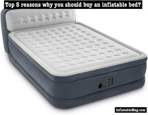 inflatable bed benefits